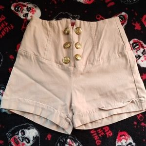 High Waisted retro Shorts